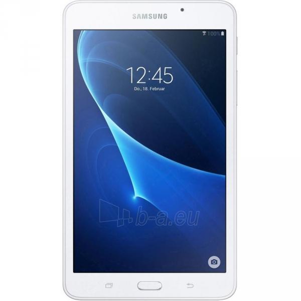Planšetinis kompiuteris Samsung T285 Galaxy Tab A (2016) 8GB LTE white Paveikslėlis 1 iš 5 310820154139