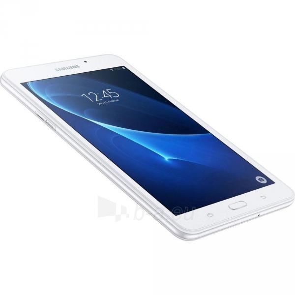 Planšetinis kompiuteris Samsung T285 Galaxy Tab A (2016) 8GB LTE white Paveikslėlis 3 iš 5 310820154139