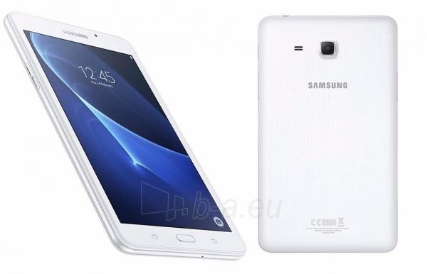 Planšetinis kompiuteris Samsung T285 Galaxy Tab A (2016) 8GB LTE white Paveikslėlis 5 iš 5 310820154139