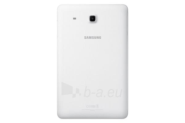 Planšetinis kompiuteris Samsung T561 Galaxy Tab E 8GB 3G pearl white Paveikslėlis 2 iš 5 310820154426