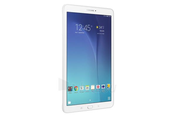 Planšetinis kompiuteris Samsung T561 Galaxy Tab E 8GB 3G pearl white Paveikslėlis 3 iš 5 310820154426