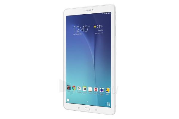 Planšetinis kompiuteris Samsung T561 Galaxy Tab E 8GB 3G pearl white Paveikslėlis 4 iš 5 310820154426
