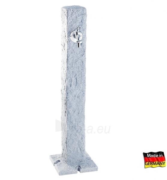 Plastikinė vandens kolonėlė, šviesaus Granito imitacija Paveikslėlis 1 iš 3 310820253531
