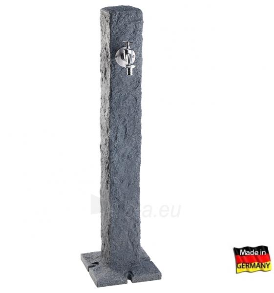 Plastikinė vandens kolonėlė, tamsaus Granito imitacija Paveikslėlis 1 iš 3 310820253530