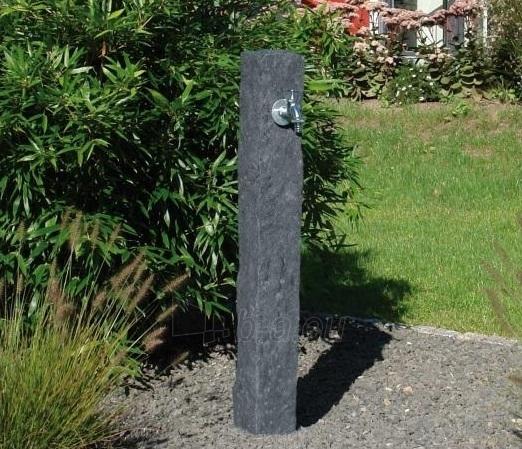 Plastikinė vandens kolonėlė, tamsaus Granito imitacija Paveikslėlis 2 iš 3 310820253530