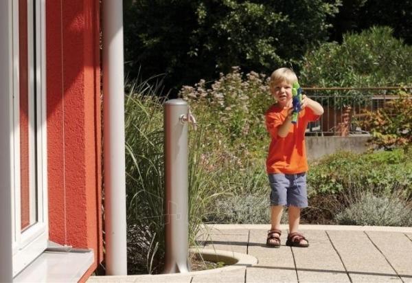 Plastikinė vandens kolonėlė Graf Rondo, pilka Paveikslėlis 2 iš 5 310820253529