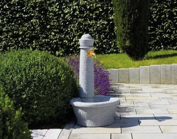 Plastikinė vandens kolonėlė su kriaukle Roma, granito imitacija Paveikslėlis 3 iš 4 310820253534