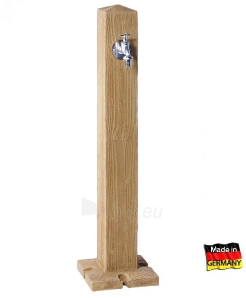 Plastikinė vandens kolonėlė Woody, šviesios medienos imitacija Paveikslėlis 1 iš 3 310820253532