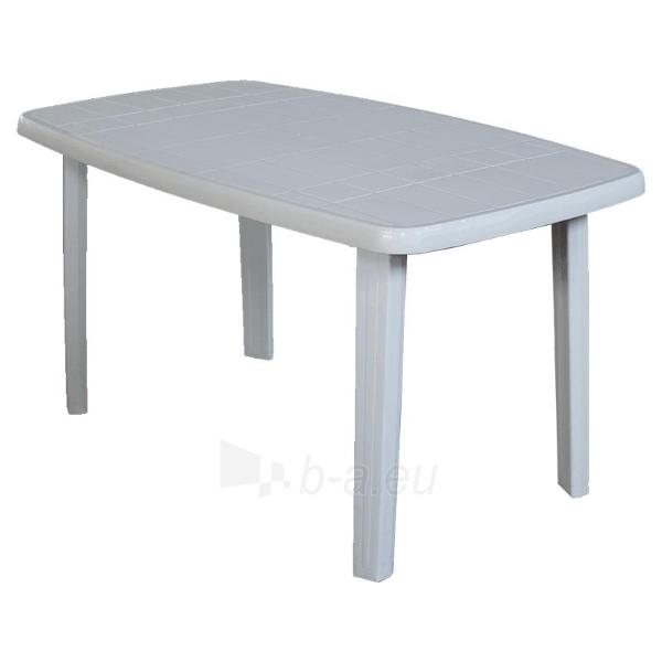 Plastikinis ovalus stalas Sorrento Paveikslėlis 1 iš 1 250402100058