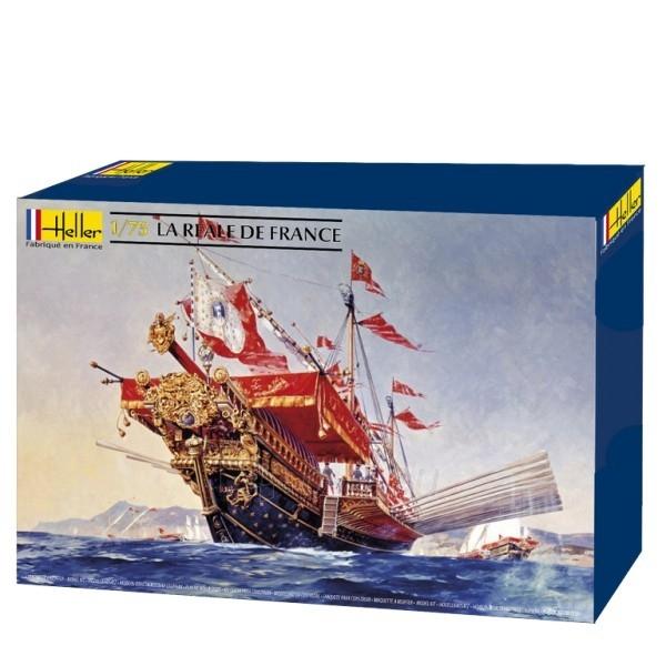 Plastikinis surenkamas laivas Heller 80898 La Reale De France 1:76 Paveikslėlis 1 iš 6 310820242231