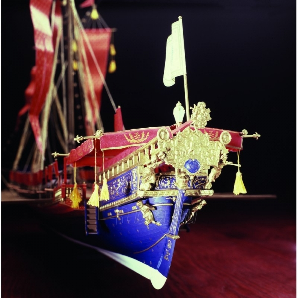 Plastikinis surenkamas laivas Heller 80898 La Reale De France 1:76 Paveikslėlis 2 iš 6 310820242231