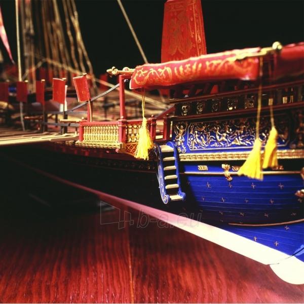 Plastikinis surenkamas laivas Heller 80898 La Reale De France 1:76 Paveikslėlis 3 iš 6 310820242231