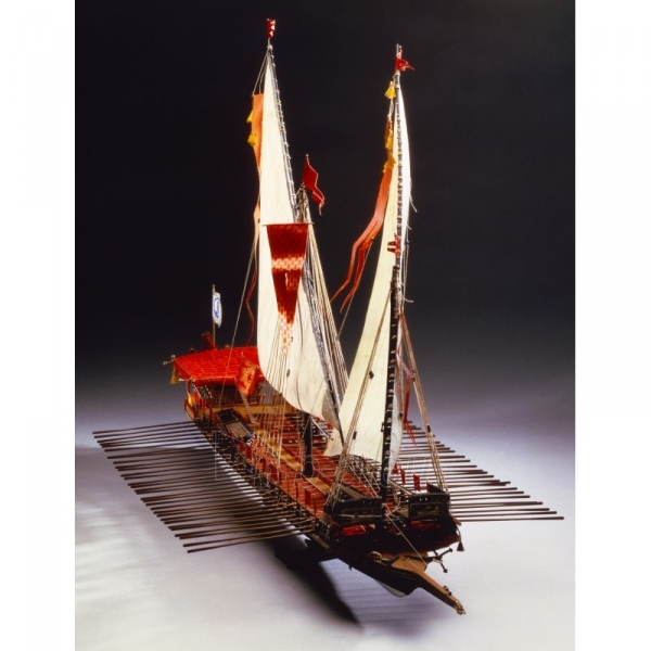 Plastikinis surenkamas laivas Heller 80898 La Reale De France 1:76 Paveikslėlis 5 iš 6 310820242231