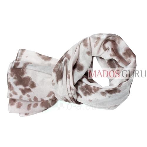 Wide motley scarf MSL076 Paveikslėlis 1 iš 1 30063100165