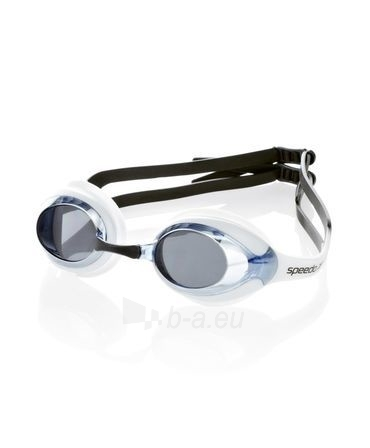 Plaukimo akiniai SPEEDO MERIT MIRROR black, white Paveikslėlis 1 iš 3 310820179639