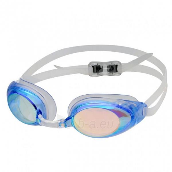 Plaukimo akiniai Spokey PROTRAINER, Žydra Paveikslėlis 4 iš 6 310820232495