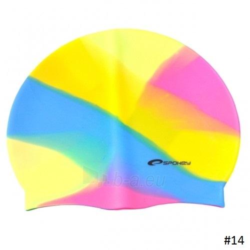 Plaukimo kepuraitė Spokey ABSTRACT, #13 Paveikslėlis 3 iš 16 310820232619