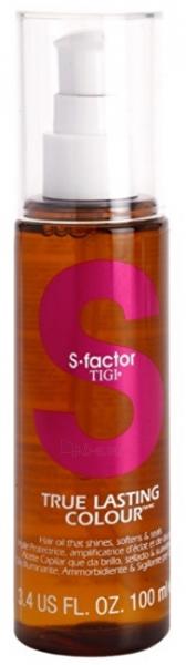Plaukų aliejukas Tigi Hair Care Oil S-Factor True Lasting Color 100 ml Paveikslėlis 1 iš 1 310820138798