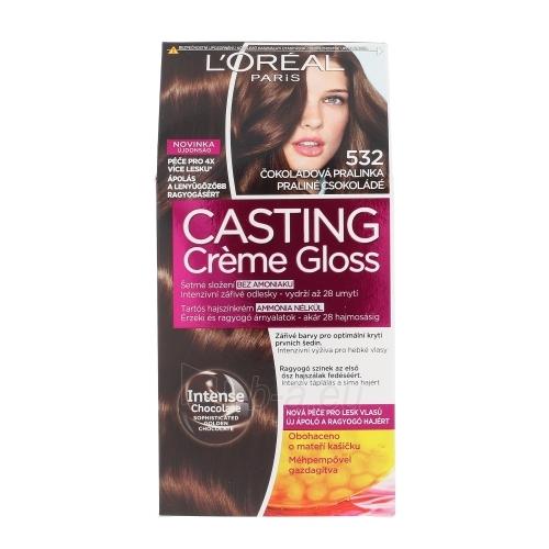 Plaukų dažai L´Oreal Paris Casting Creme Gloss Cosmetic 1ks Shade 532 Chocolate Soufflé Paveikslėlis 1 iš 1 310820045804