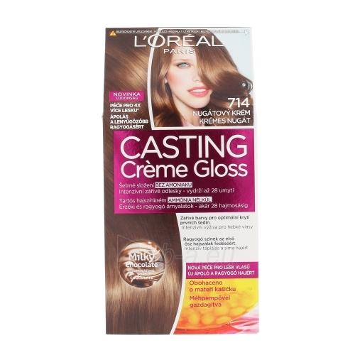 Plaukų dažai L´Oreal Paris Casting Creme Gloss Cosmetic 1ks Shade 714 Chocolate Lollipop Paveikslėlis 1 iš 1 310820045807
