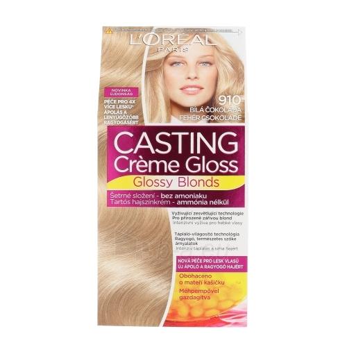 Plaukų dažai L´Oreal Paris Casting Creme Gloss Glossy Blonds Cosmetic 1ks Shade 910 Iced Blonde Paveikslėlis 1 iš 1 310820045813
