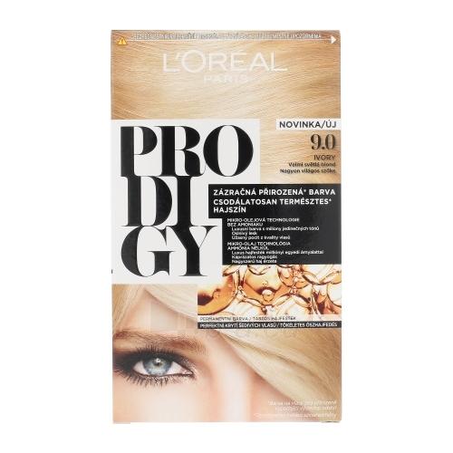 Plaukų dažai L´Oreal Paris Prodigy Cosmetic 1ks Shade 9.0 Ivory Paveikslėlis 1 iš 1 310820045791