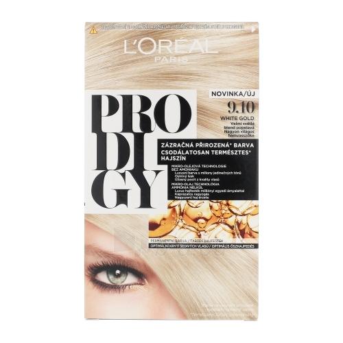 Plaukų dažai L´Oreal Paris Prodigy Cosmetic 1ks Shade 9.10 White Gold Paveikslėlis 1 iš 1 310820046297