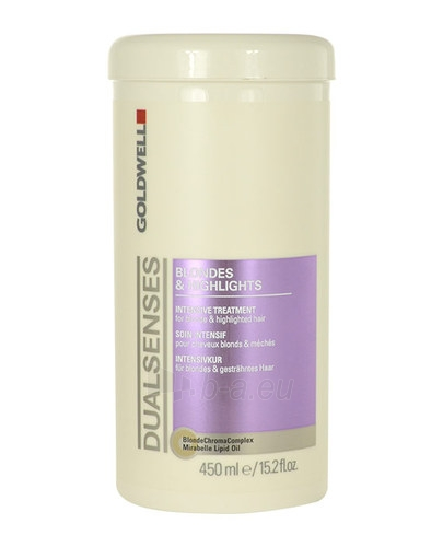 Plaukų mask Goldwell Dualsenses Blondes Highlights Intensive Treatment Cosmetic 450ml Paveikslėlis 1 iš 1 310820011459
