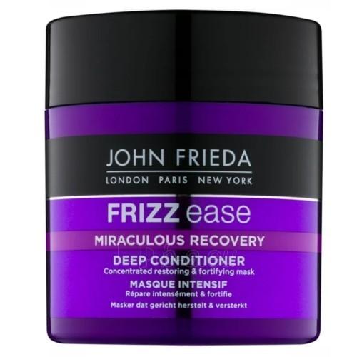 Plaukų kaukė John Frieda Refreshing & Reinforcing Hair Mask Frizz Ease Miraculous Recovery (Deep Conditioner) 150 ml Paveikslėlis 1 iš 1 310820169115