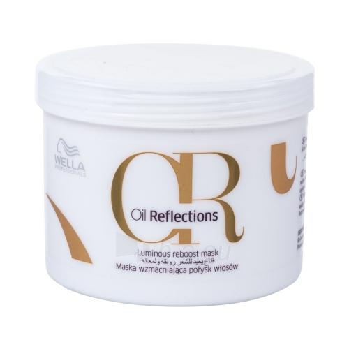 Plaukų kaukė Wella Oil Reflections Luminous Reboost Mask Cosmetic 500ml Paveikslėlis 1 iš 1 310820080401