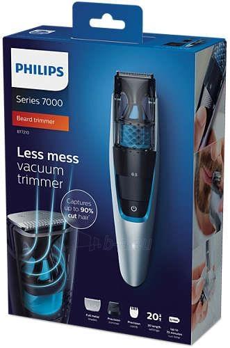 Plaukų kirpimo mašinėlė Trimmer Philips BT7210/15 Paveikslėlis 4 iš 4 310820146378