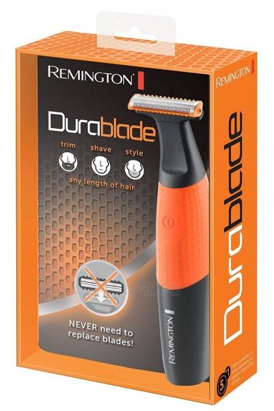 Plaukų kirpimo mašinėlė Trimmer Remington MB010 Durablade Paveikslėlis 2 iš 2 310820158584