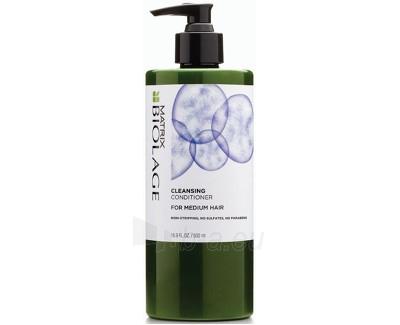 Plaukų kondicionerius normaliems plaukams Matrix Biolage (Bio Cleansing Conditioner) 500 ml Paveikslėlis 1 iš 1 310820049058