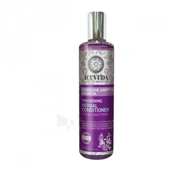 Plaukų conditioner Iceveda Straightening herbal hair conditioner Greenland juniper and argan oil 280 ml Paveikslėlis 1 iš 1 310820106313