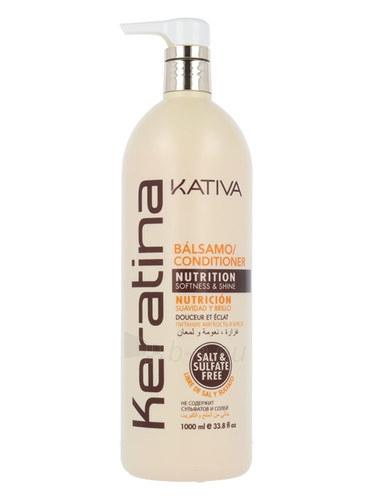 Plaukų kondicionierius Kativa Keratina Conditioner Cosmetic 1000ml Paveikslėlis 1 iš 1 310820028913