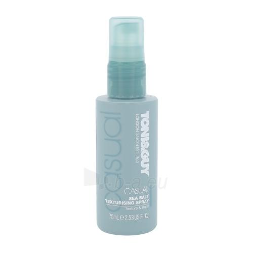 Plaukų lakas Toni&Guy Casual Sea Salt Texturising Spray Cosmetic 75ml Paveikslėlis 1 iš 1 310820045697