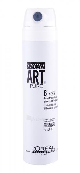 Plaukų purškiklis L´Oréal Professionnel Tecni.Art Pure 6-Fix Hair Spray 250ml Paveikslėlis 1 iš 1 310820224534