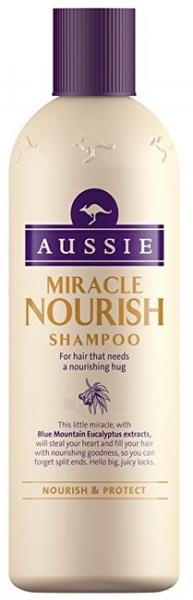 Plaukų šampūnas Aussie Miracle Nourish Hair (Shampoo) 300 ml Paveikslėlis 1 iš 1 310820138788