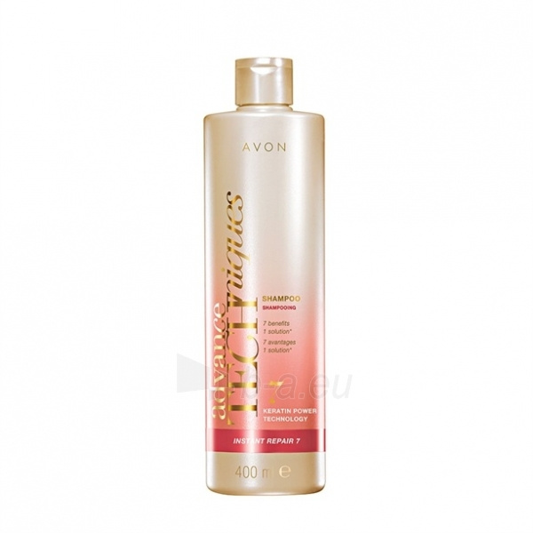 Plaukų šampūnas Avon Restorative shampoo with keratin for damaged hair Advance Techniques (Instant Repair 7 Shampoo) 250 ml Paveikslėlis 1 iš 1 310820103489