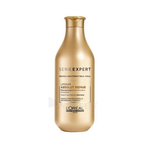 Plaukų šampūnas Loreal Professionnel Lipid Absolut Repair (Instant Resurfacing Shampoo) Lipid Shampoo for Very Damaged Hair 500 ml Paveikslėlis 1 iš 1 310820102687