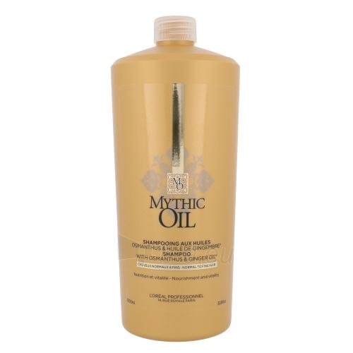 Plaukų šampūnas L´Oréal Professionnel Mythic Oil Shampoo Normal Hair Cosmetic 1000ml Paveikslėlis 1 iš 1 310820048469