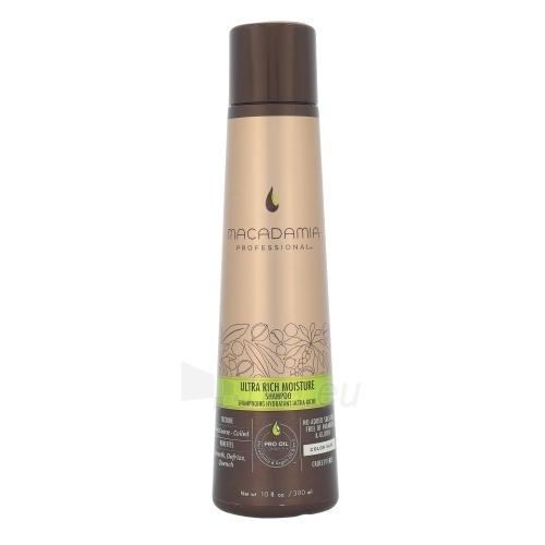 Plaukų šampūnas Macadamia Ultra Rich Moisture Shampoo Cosmetic 300ml Paveikslėlis 1 iš 1 310820082779