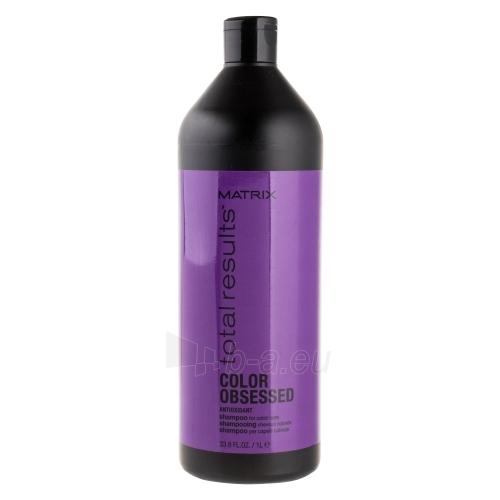 Plaukų šampūnas Matrix Total Results Color Obsessed Shampoo Cosmetic 1000ml Paveikslėlis 1 iš 1 310820051688