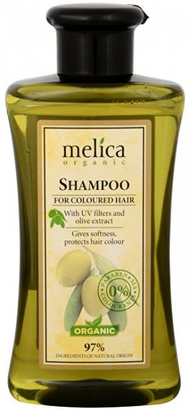 Plaukų šampūnas Melica Color shampoo with UV filters and 300ml olive extract Paveikslėlis 1 iš 1 310820105589