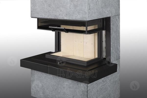 Plieninė krosnelė Romotop CARA C 02 su muilo akmens apdaila Paveikslėlis 3 iš 5 310820254529