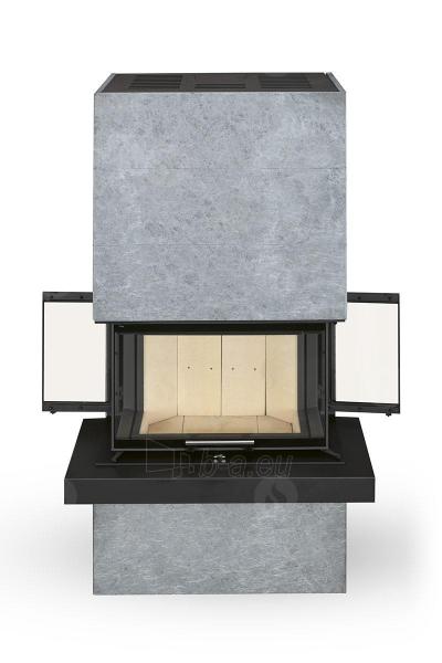 Plieninė krosnelė Romotop CARA C 02 su muilo akmens apdaila Paveikslėlis 4 iš 5 310820254529