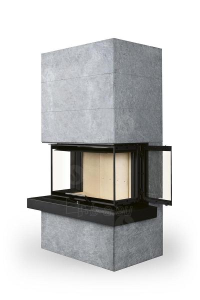 Plieninė krosnelė Romotop CARA C 02 su muilo akmens apdaila Paveikslėlis 5 iš 5 310820254529