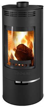 Plieninė krosnelė Thorma Andorra, juoda Paveikslėlis 1 iš 4 310820254764