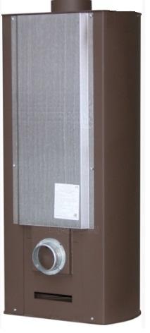 Plieninė krosnelė Thorma Andorra, ruda Paveikslėlis 5 iš 5 310820254774