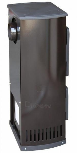 Plieninė krosnelė Thorma Verona, juoda Paveikslėlis 3 iš 5 310820254775